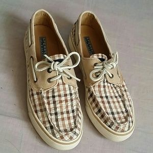 SPERRY Top-sider Shoes 8.5 M Canvas